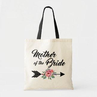 Mère de la flèche de jeune mariée sac en toile budget