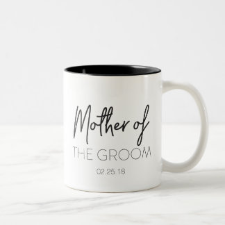 Mère de la tasse de marié