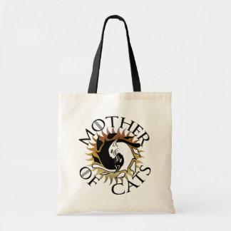 Mère de sac fourre-tout à chats