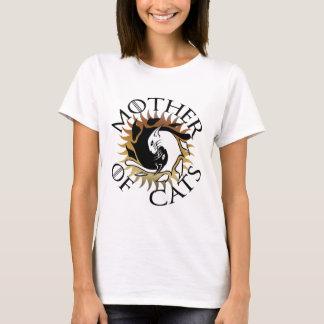 Mère de T-shirt de chats