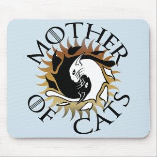 Mère de tapis de souris de chats