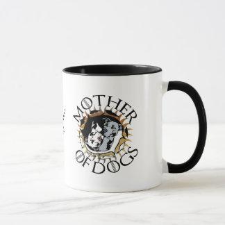 Mère de tasse de café de chiens