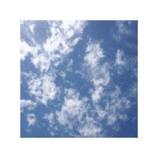 Merveille de ciel bleu toiles