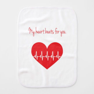 Mes battements de coeur pour vous linge de bébé