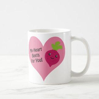 Mes betteraves de coeur pour vous mug