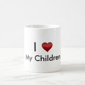 Mes enfants mug blanc
