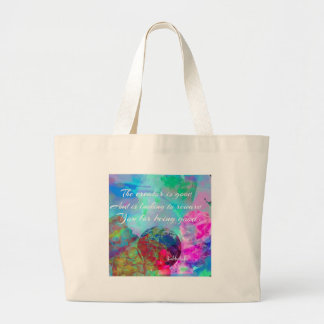 Message de Kabbalah dans polychrome Grand Tote Bag