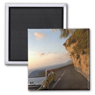 Message publicitaire de voiture magnet carré