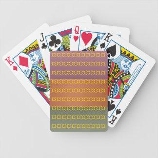 Metaal drie beëindigt Kleur - het Symbool van de Poker Kaarten