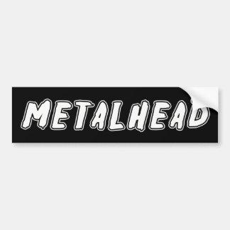 Metalhead Autocollant De Voiture