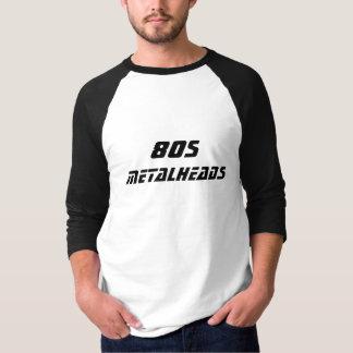 Metalheads, de jaren '80 t shirt