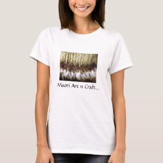 Métier maori de l'art n sur le T-shirts