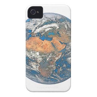 Mettez à la terre la vue concentrée sur le berceau étuis iPhone 4