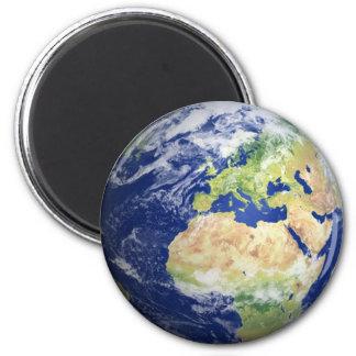 Mettez à la terre l'aimant #2 - l'Europe/Afrique d