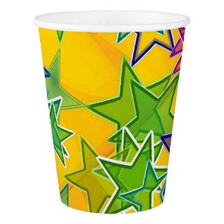 Mettez en marche la tasse de papier faite sur gobelets en papier