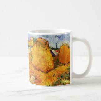Meules de foin de Van Gogh en Provence, beaux-arts Mug