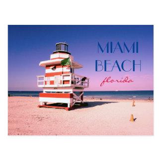 Miami Beach la Floride #01 Carte Postale