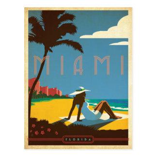 Miami, FL Carte Postale
