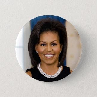 Michelle Obama Badge Rond 5 Cm