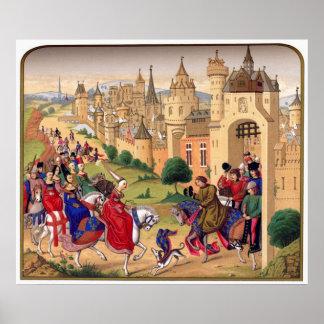 Middeleeuws Art. Poster