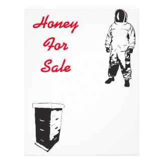 Miel à vendre prospectus 21,6 cm x 24,94 cm
