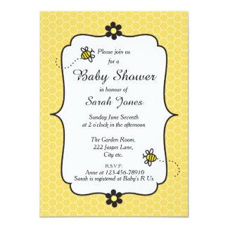 Mignon gaffez l'invitation orientée de baby shower carton d'invitation  11,43 cm x 15,87 cm