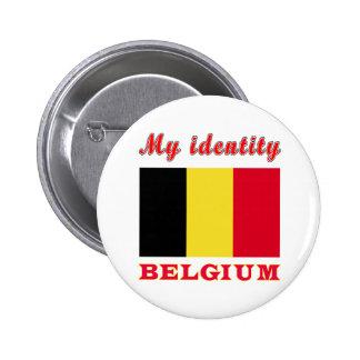 Mijn Identiteit België Speld Buttons