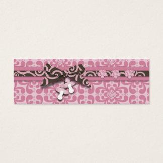 Mijn Label van de Gift van het Meisje Mager Mini Visitekaartjes