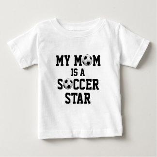 Mijn Mamma is een Bal van het Voetbal van de Ster T Shirts
