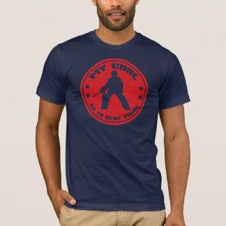 Mijn T-shirt van het Citaat van Goalie van het