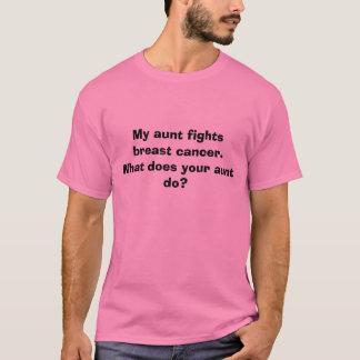 Mijn tante bestrijdt borstkanker.  Wat uw een… T Shirt