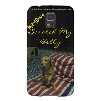 "Mikey Dawg ""Scrath caisse de la galaxie S5 de mon Protections Galaxy S5"