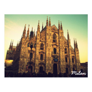 Milan, Italie Carte Postale