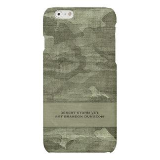 Militair of Naam die van de Douane van de Matte iPhone 6 Hoesje