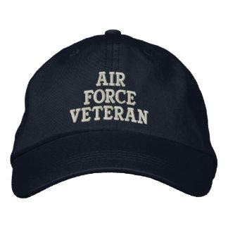 Militaires de vétéran de l'Armée de l'Air Casquette Brodée
