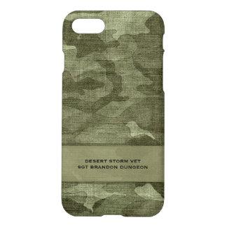 Militaires ou chasse nommés faits sur commande de coque iPhone 7