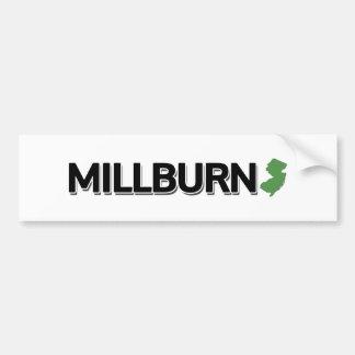 Millburn, New Jersey Autocollant De Voiture