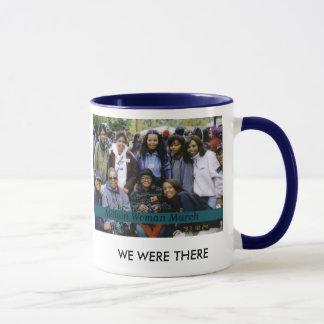 Million de femme mars mug