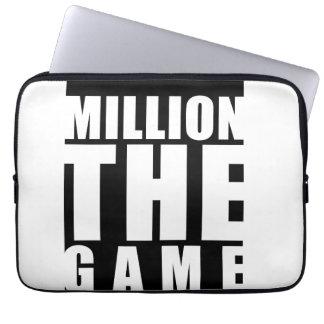 Million la douille de jeu housse ordinateur portable