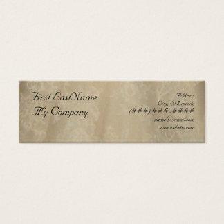 Mini Carte De Visite affaires sophistiquées/télécarte