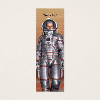 Mini Carte De Visite Astronaute