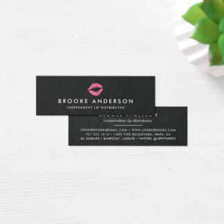 Mini Carte De Visite Distributeur lumineux de produit de lèvre du