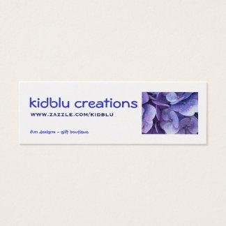 Mini Carte De Visite étiquette d'article de créations de kidblu -