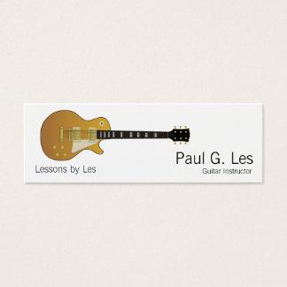 Mini Carte De Visite Guitare