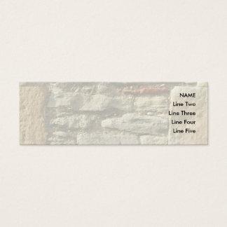 Mini Carte De Visite Image de mur en pierre