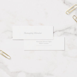 Mini Carte De Visite mini matte standard
