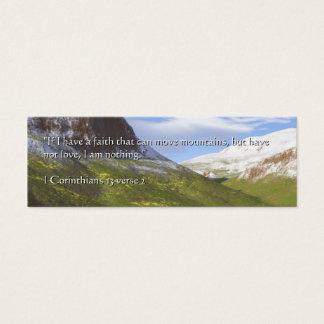 Mini Carte De Visite Montagnes de la foi | Terragen