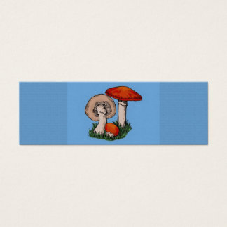 Mini Carte De Visite Peinture de champignon