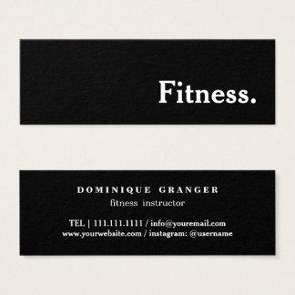 Mini Carte De Visite Professeur d'instructeur de yoga de Pilates