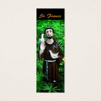 Mini Carte De Visite Signet de St Francis